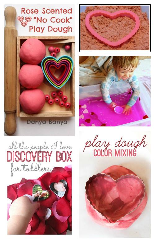 valentine's day sensory discovery box