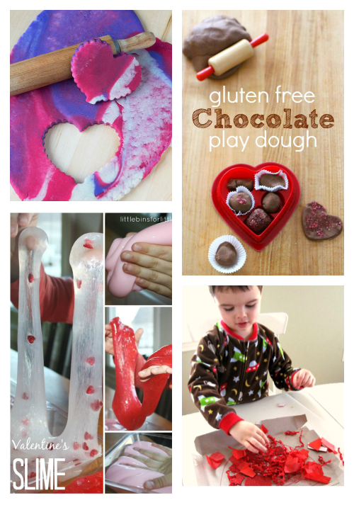 valentine's day sensory activities