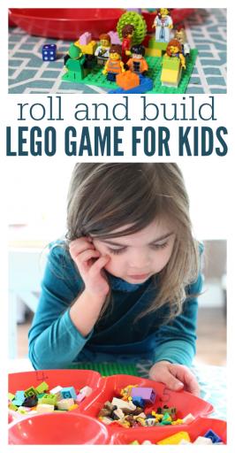 DIY LEGO game for kids