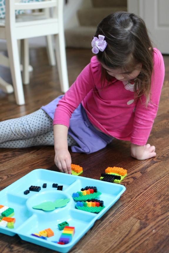 Lego challenge for children
