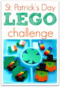 St.Patrick's Day Lego Challenge