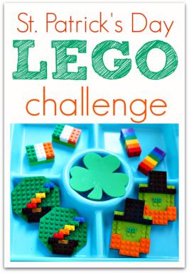 St. Patrick's Day LEGO Challenge!
