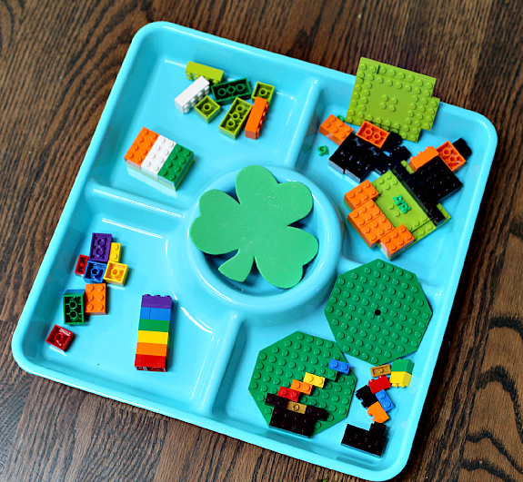 St.Patrick's Day Lego Activity