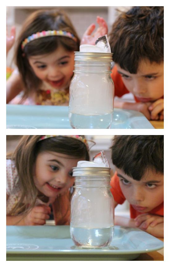 how to make a cloud science experiment