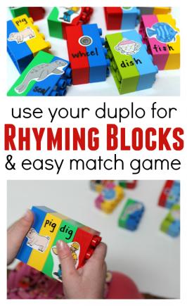 Duplo Rhyming Game