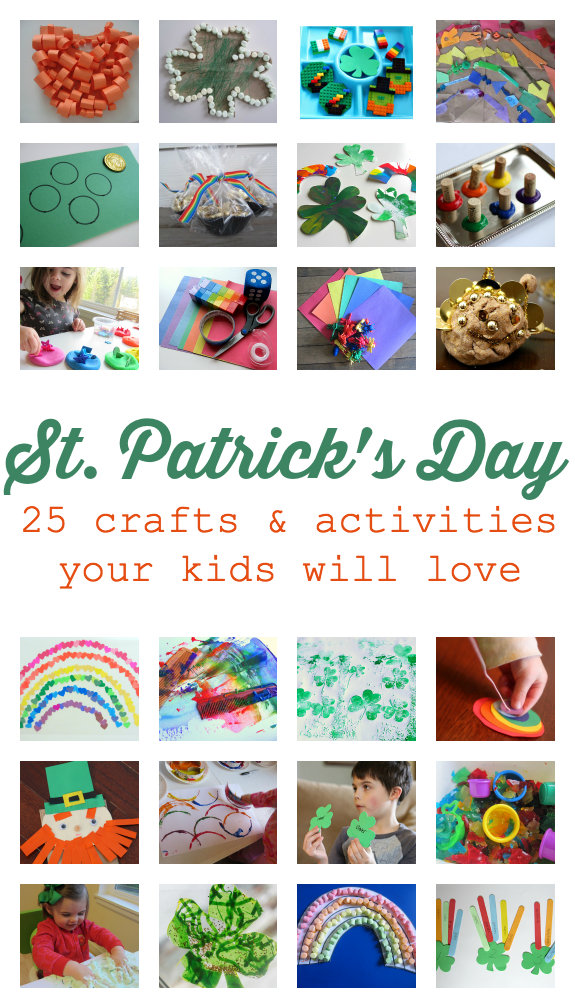 easy St.Patrick's day crafts