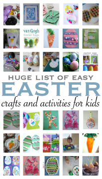 easy easter crafts for toddlers