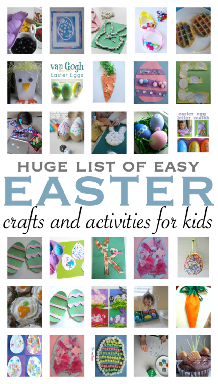Easy Easter Crafts For Toddlers And Preschoolers No Time For Flash Cards