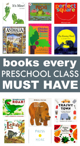 58 Books Every Preschool Class MUST have