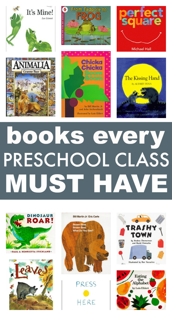 58 Books Every Preschool Class Must Have No Time For