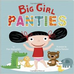 books for potty training girls