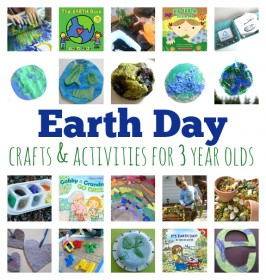 Earth Day Crafts and Activities For 3 year olds