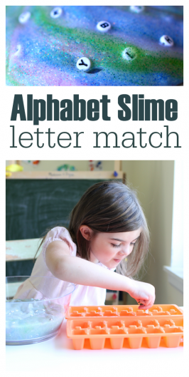 Alphabet Slime – Match Upper & Lowercase Letters
