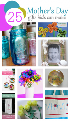 25 Mother's Day Gifts Kids Can Make