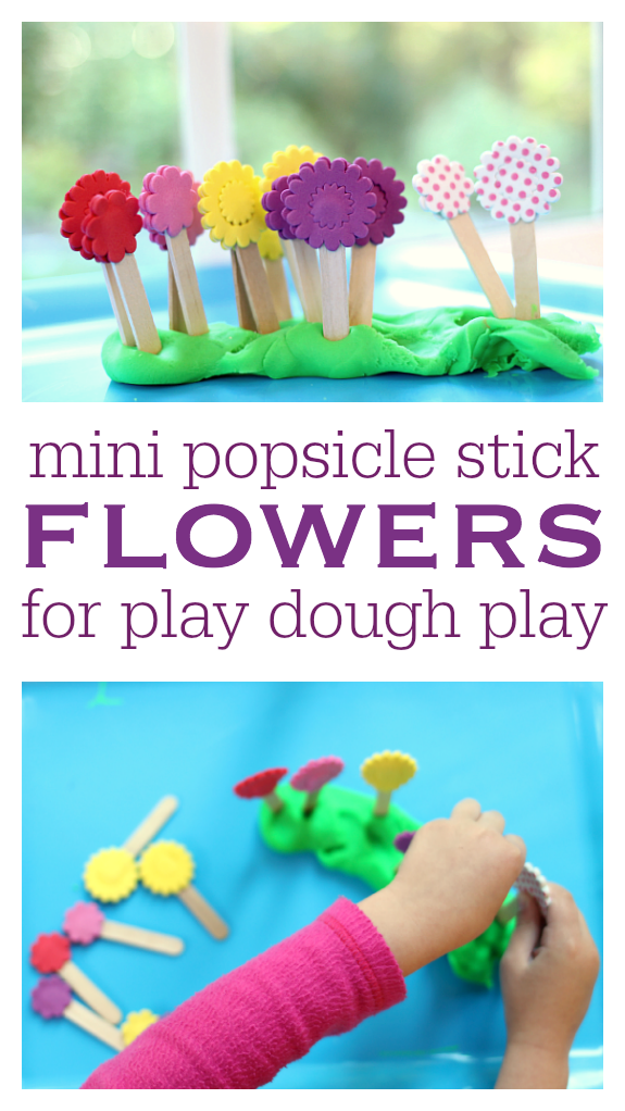 easy popsicle stick flowers