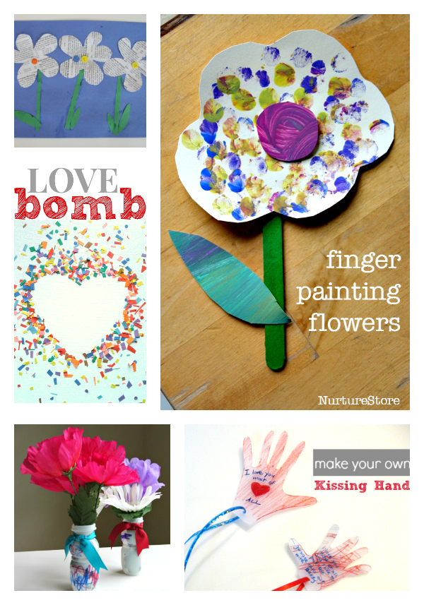 mother's day crafts for kids to give to mom