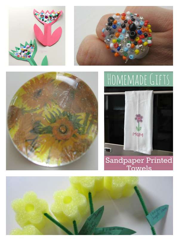 mother's day crafts kids can give to mommy