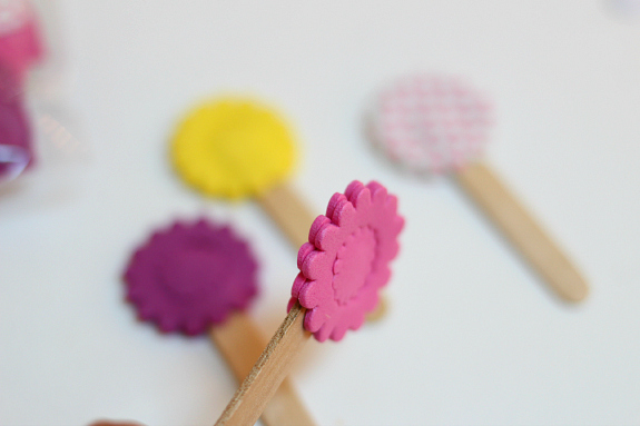flowers for play dough