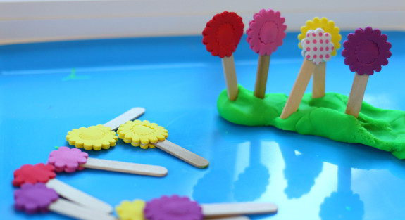 play dough play for kids