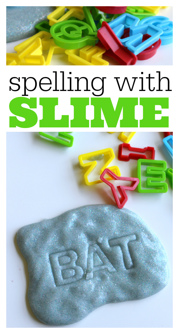 literacy activities with slime