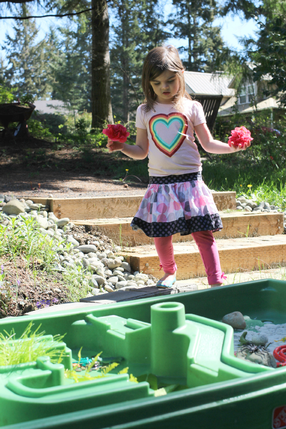 water table activity for kids