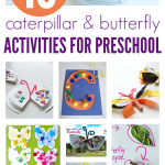 18 Caterpillar & Butterfly Activities For Preschool { and Books too! }