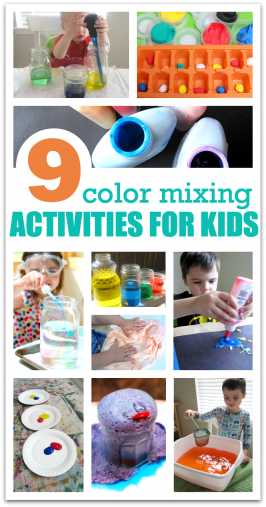 Color Mixing Activities For Preschool