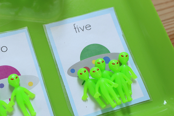 alien math for kids