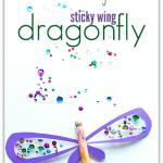 Sticky Wing Dragonfly Craft