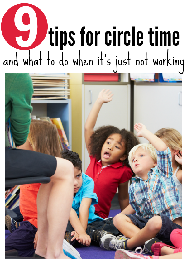 circle time for preschool tips for teachers