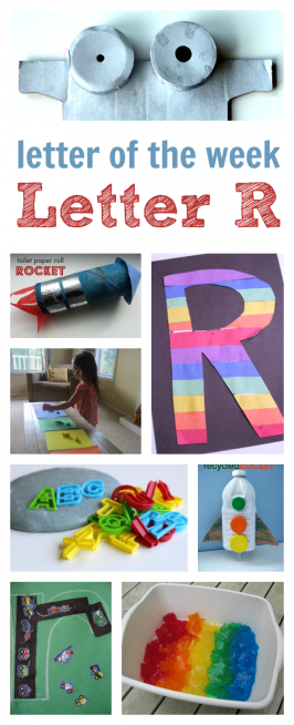 Letter Of The Week R – Crafts & Activities
