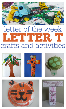 Letter Of The Week – Letter T Theme