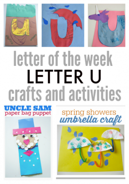 Letter Of The Week – Letter U Crafts and Activities