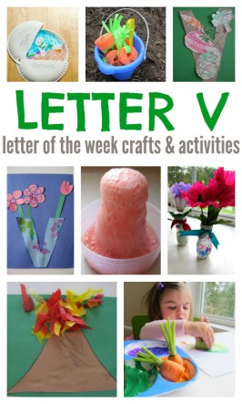 Letter Of The Week – Letter V Crafts and Activities