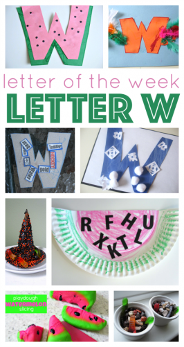 Letter Of The Week – W Crafts and Activities
