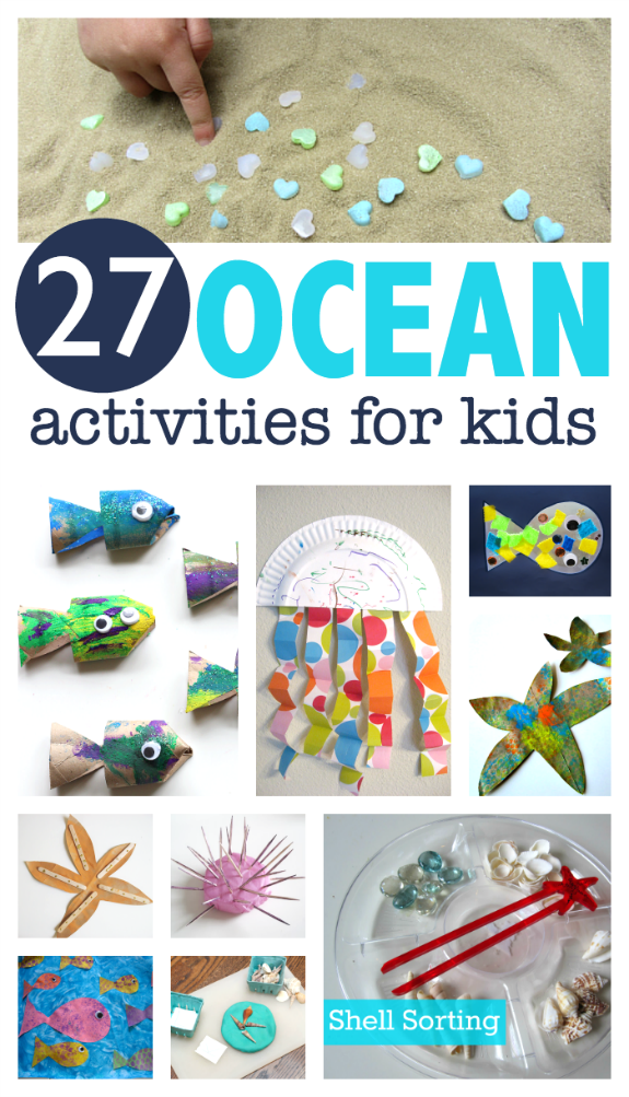 27 Ocean Activities For Kids No Time For Flash Cards