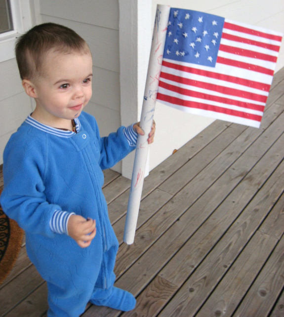 American flag craft for toddlers 4th of july
