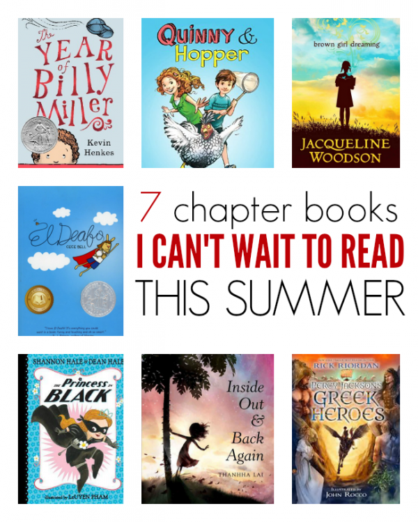 EARLY CHAPTER BOOKS SUMMER