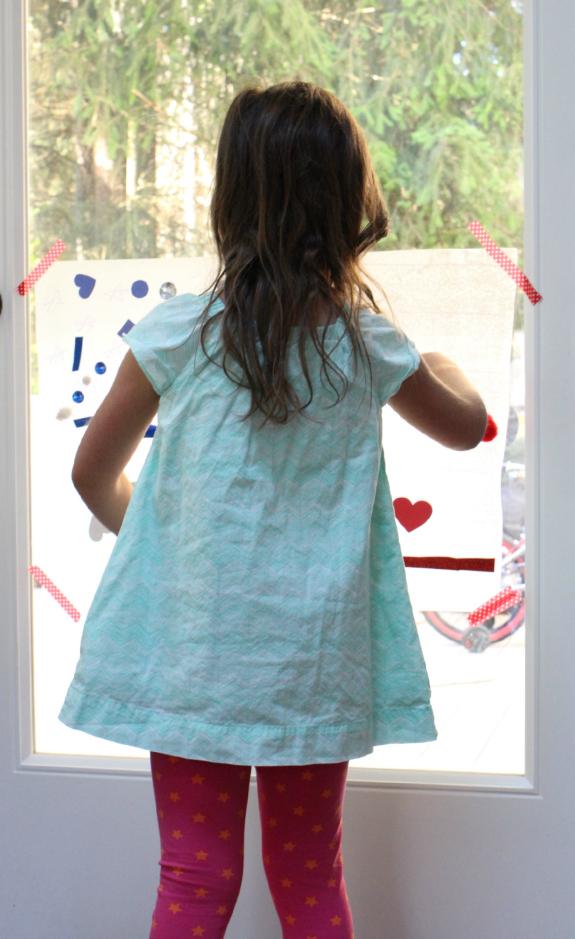 Untitlesticky window 4th of july activity
