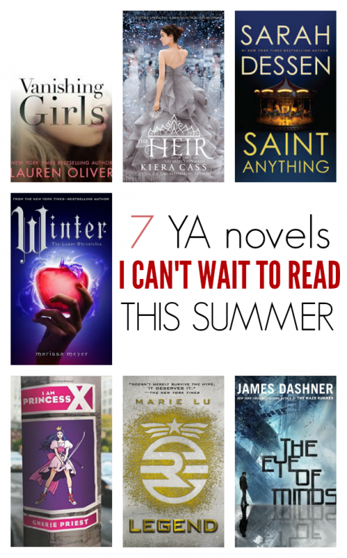 YA NOVELS TO READ THIS SUMMER