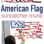 American Flag Suncatcher – 4th of July Craft