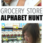Super Simple Grocery Store Alphabet Hunt