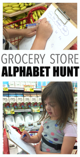 alphabet hunt at trader joe's