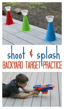Shoot & Splash – Outside Activity For Kids