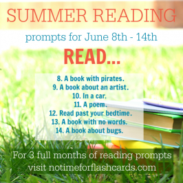 summer reading calendar for kids