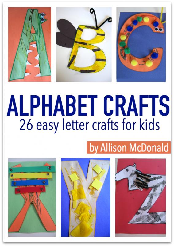 alphabet crafts ebook