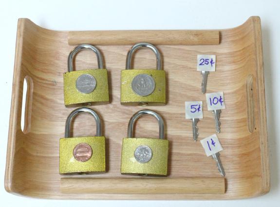 coin lock match up