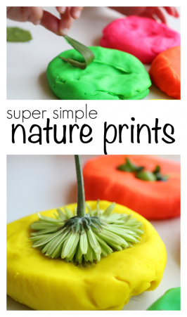 Super Simple Nature Prints