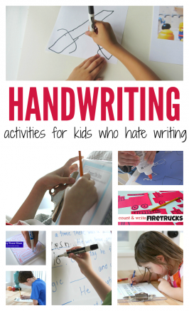 handwriting activities for kids