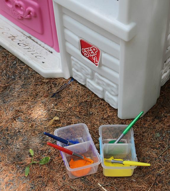 outdoor art activities for kids